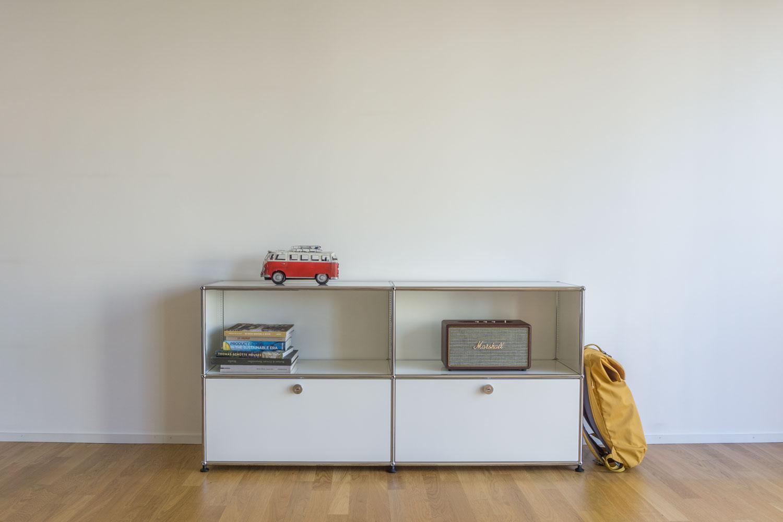 usm haller vitra occasionen b rom bel. Black Bedroom Furniture Sets. Home Design Ideas